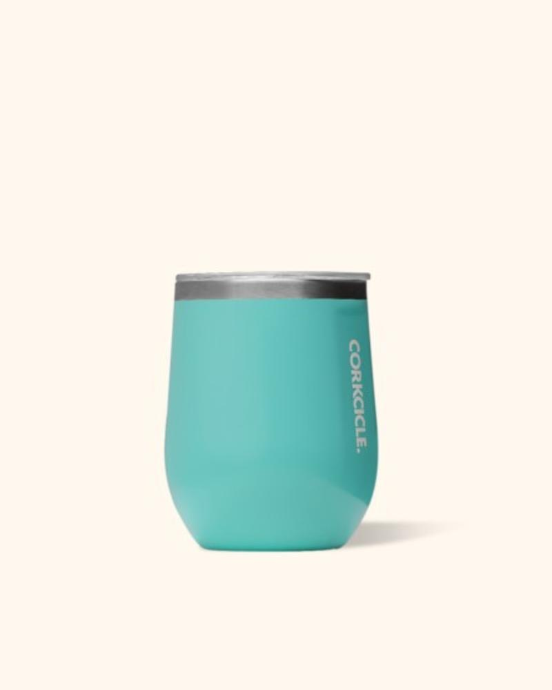 12 0z. Stemless   Turquoise