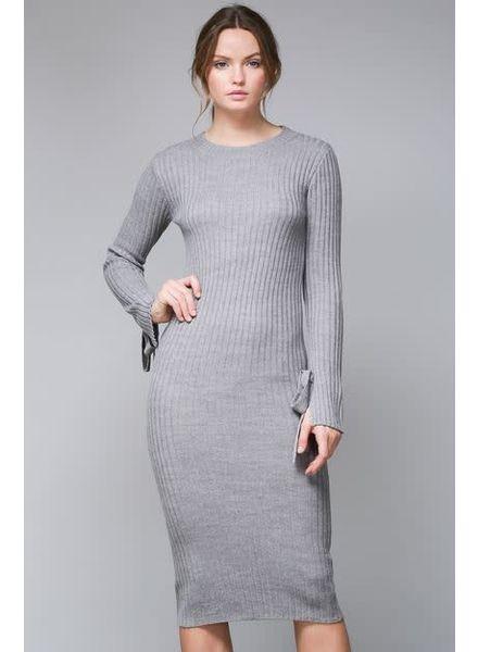 The Sleeve Midi Dress
