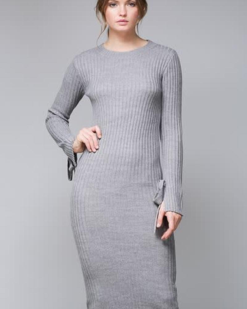 The Sleeve Midi Dress