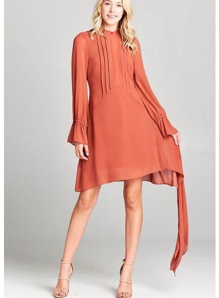 Petra Pleated Dress