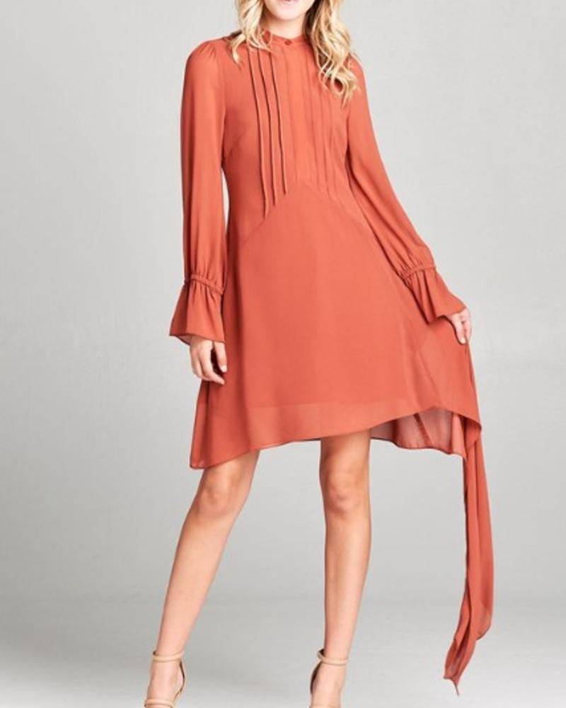 Petra Pleated Dress