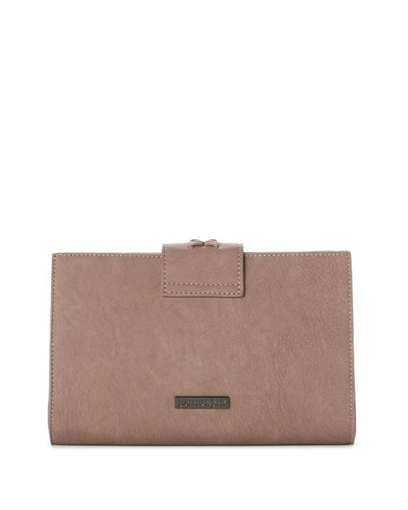 Caroline Clutch Bag w Braid Detail | Two Colors!