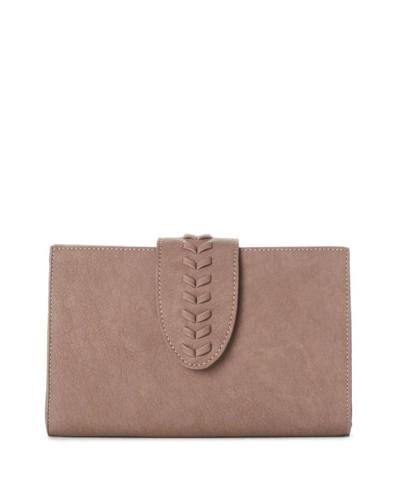 Caroline Clutch Bag w Braid Detail | Two Colors!