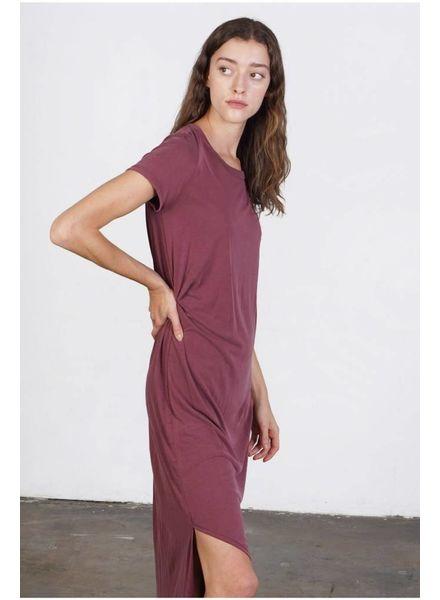 Mod Ref The Bianca Dress   Burgundy