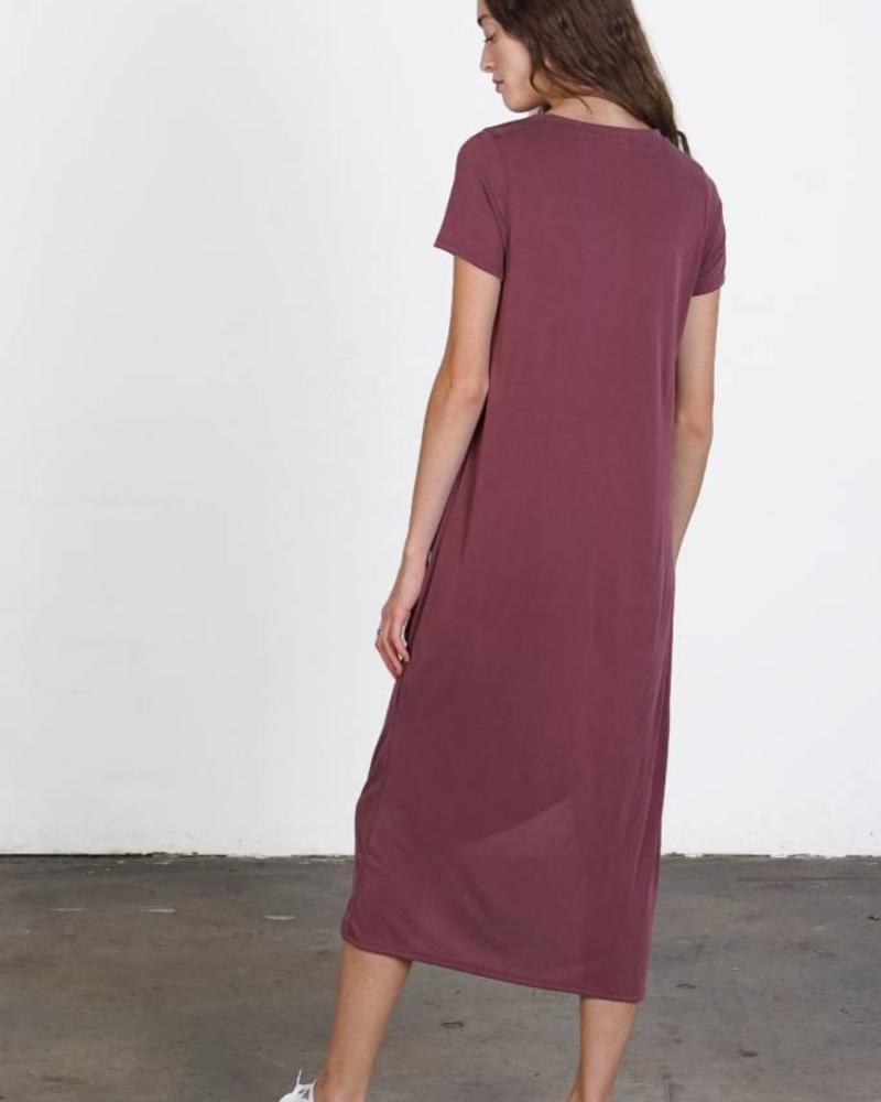 Mod Ref The Bianca Dress | Burgundy