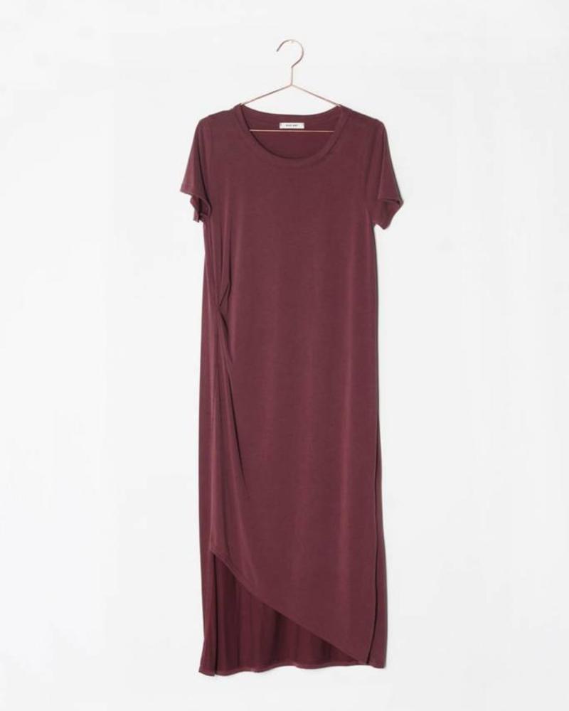 The Bianca Dress | Burgundy