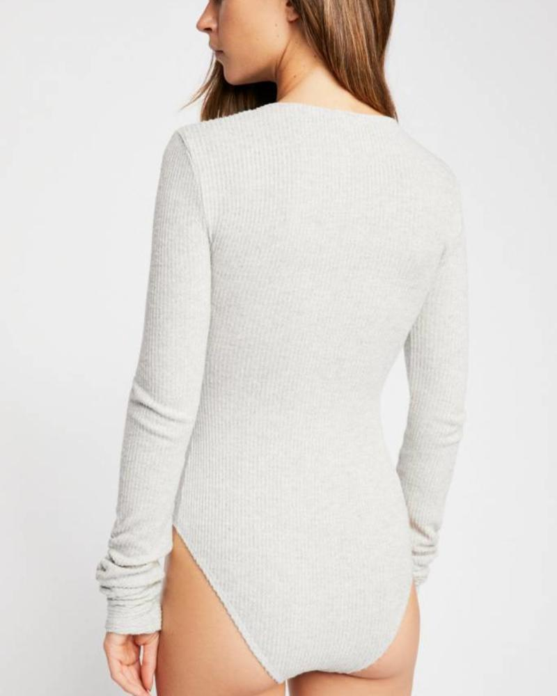 Cozy Up With Me Bodysuit | 3 Colors