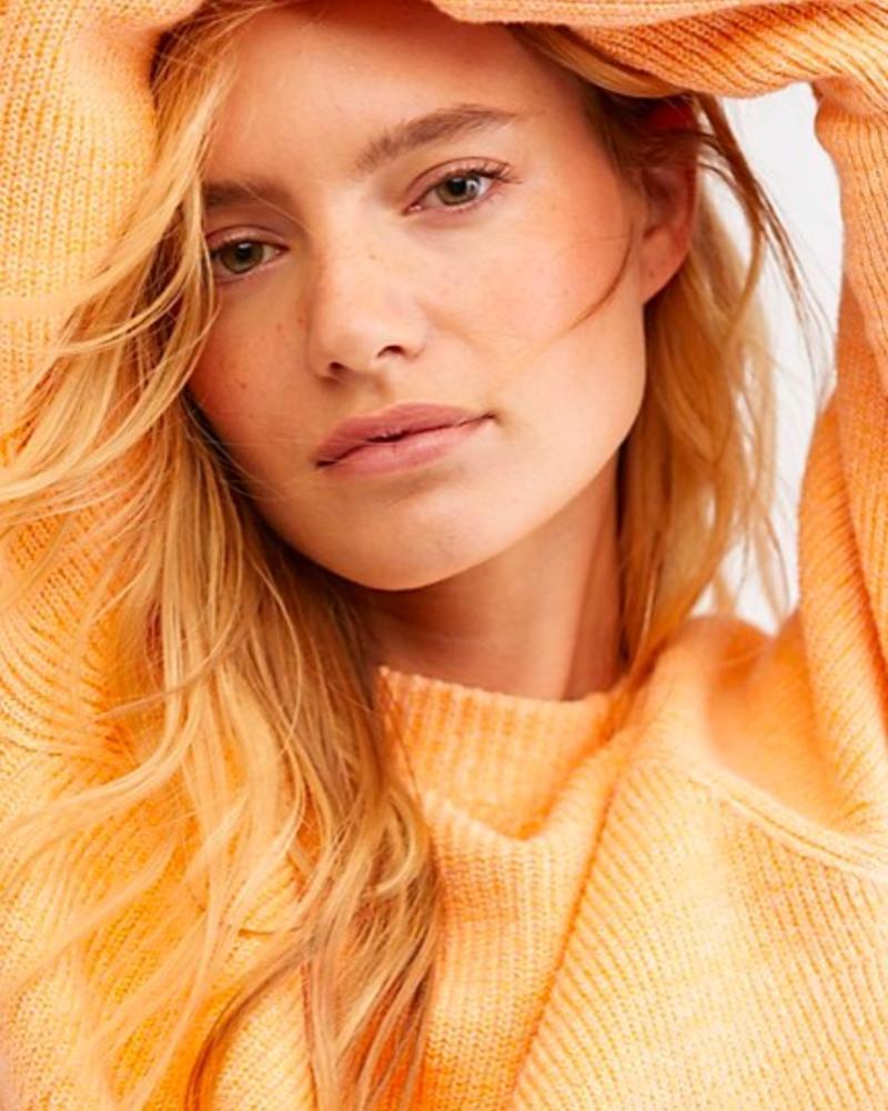Too Good Pullover | Orange