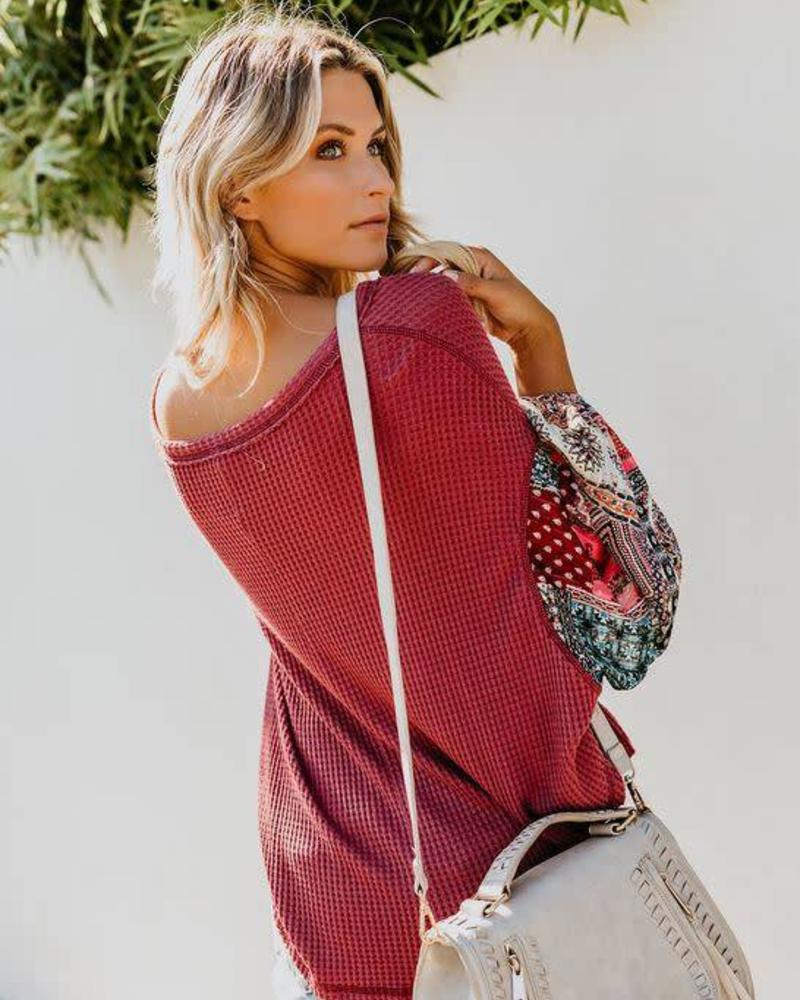By Together Thermal Gypsy Top | Burg