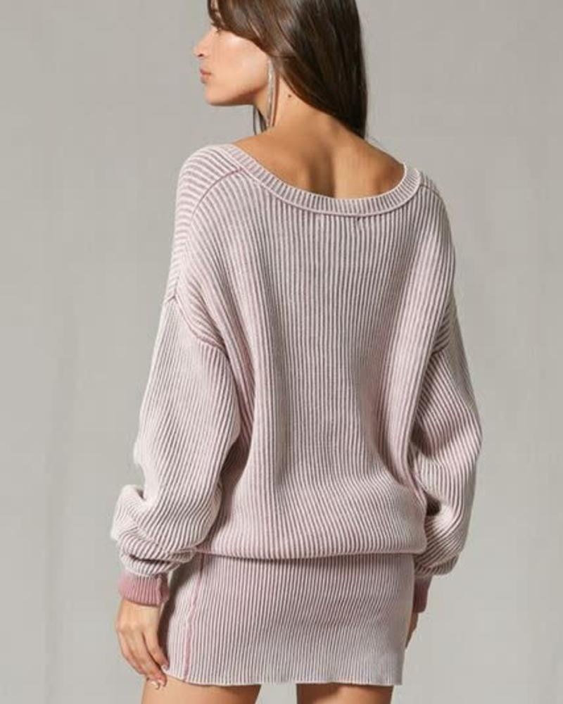 By Together Dolly Pullover Sweater Dress
