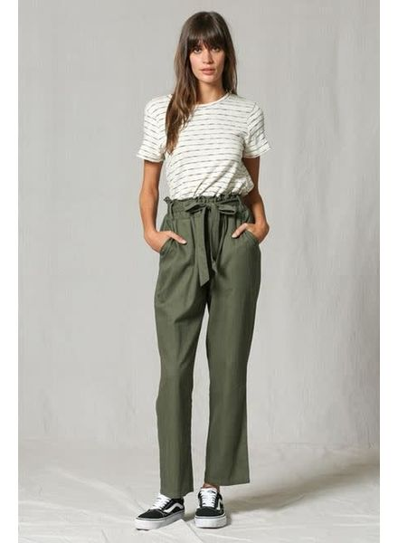 By Together Scrunch Waist Pant