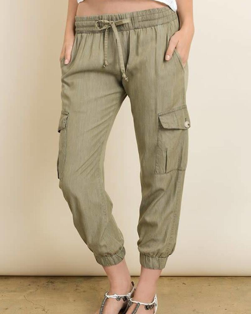 Cargo Jogger | Olive