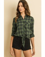 Dress Forum Hunter Plaid Blouse
