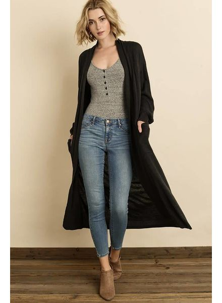 Open Front Duster Cardi