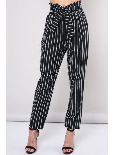 Stripe Woven Trouser