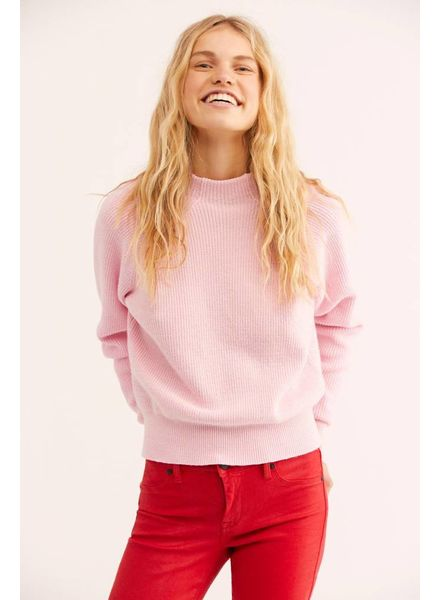 Free People Too Good Pullover   Pink
