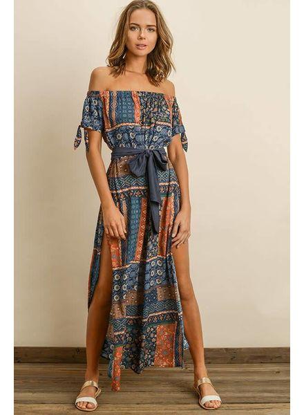 Dress Forum Sunbaked Off-the-Shoulder Dress