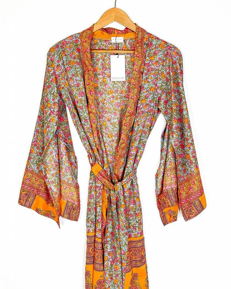 Southern Kimono | Orange Combo