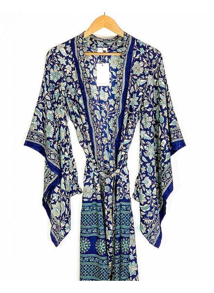 Northern Kimono | Blue Combo