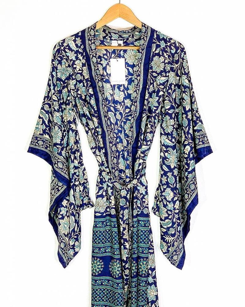 Northern Kimono   Blue Combo
