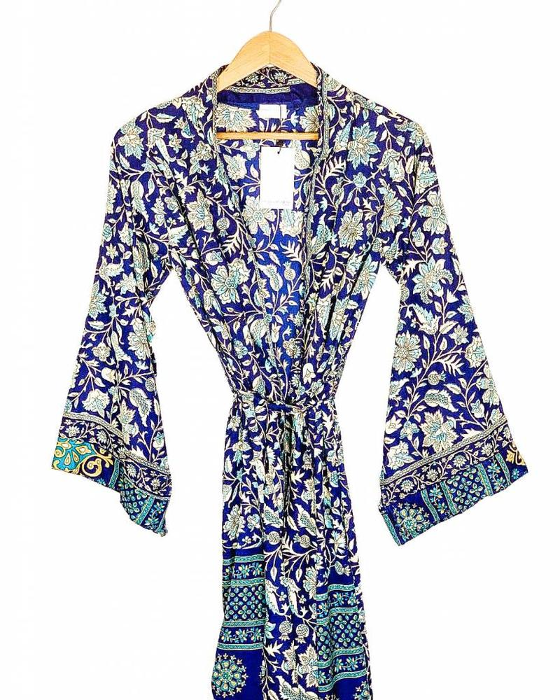 Southern Kimono | Blue Combo