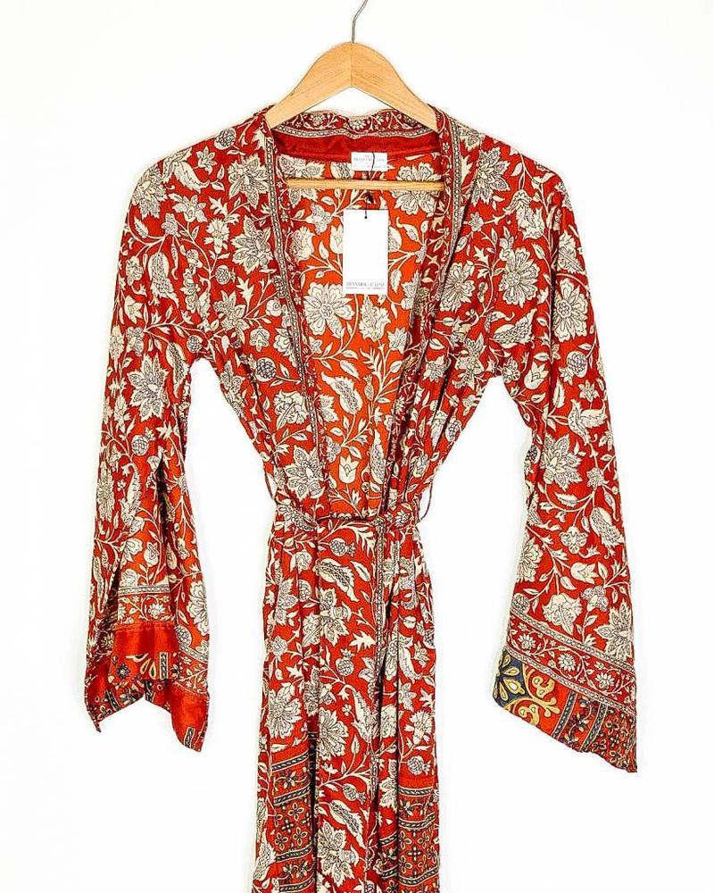 Southern Kimono | Red Floral