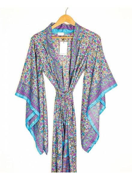 Northern Kimono | Blue/Purple Combo
