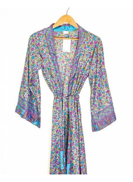 Southern Kimono | Blue/Purple Combo
