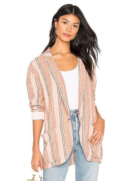 Simply Stripe Blazer