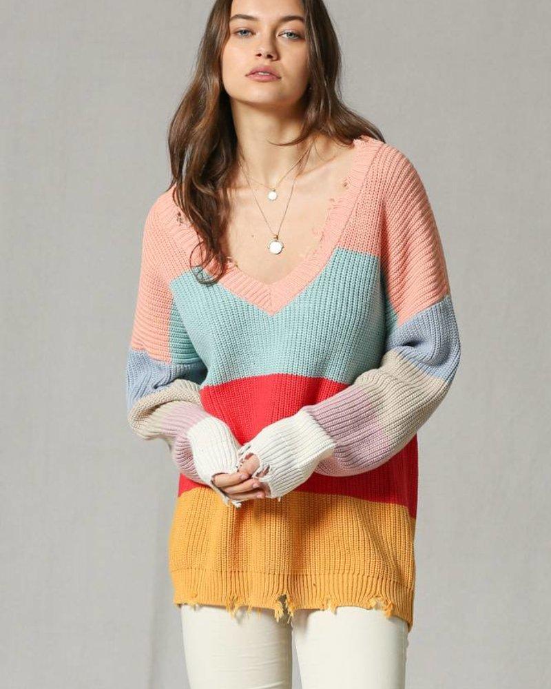 Multi Color Pullover