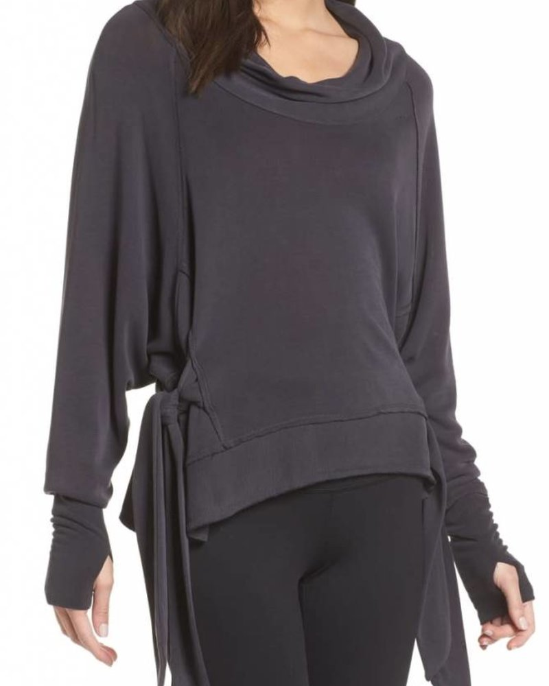 Sweet Flow Pullover | Heather Black