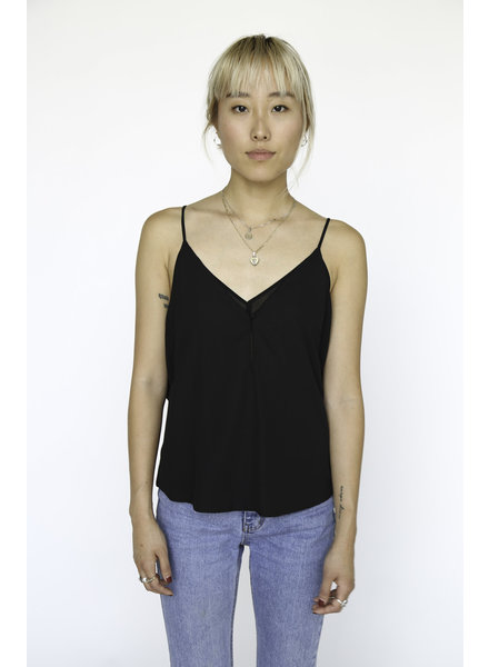 Double Layered Cami | Black