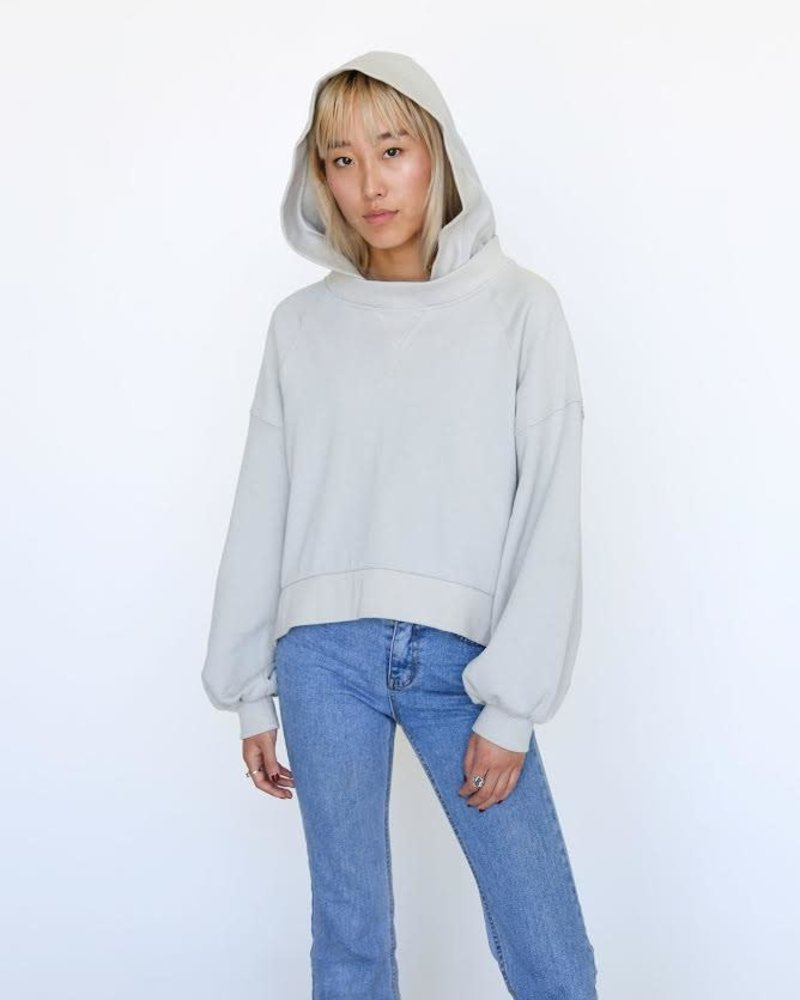 Slouchy Hooded Sweatshirt
