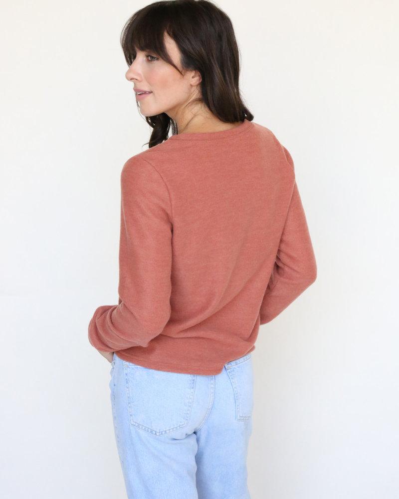 Basic Rust Long Sleeve