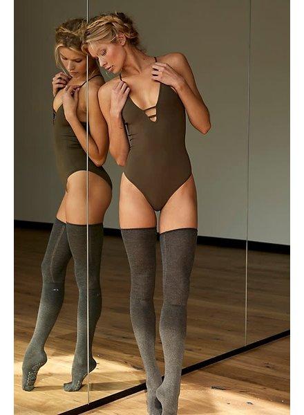 Dance All Day Bodysuit   Moss