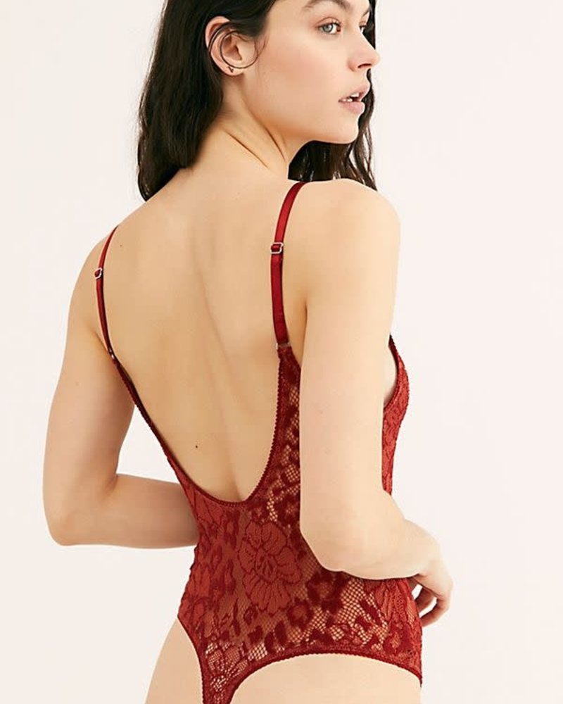 Live It Up Bodysuit | Red