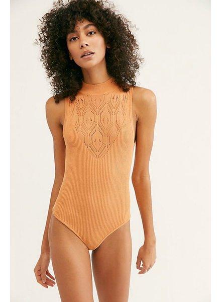 Orange On Point Bodysuit