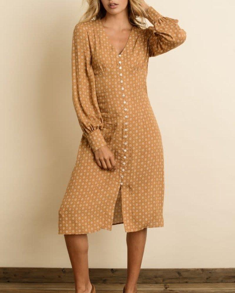 5011effaae6 Bishop Sleeve Midi Dress - Thelma   Thistle