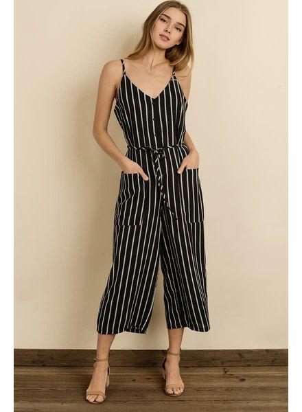 Stripe Cami Jumpsuit
