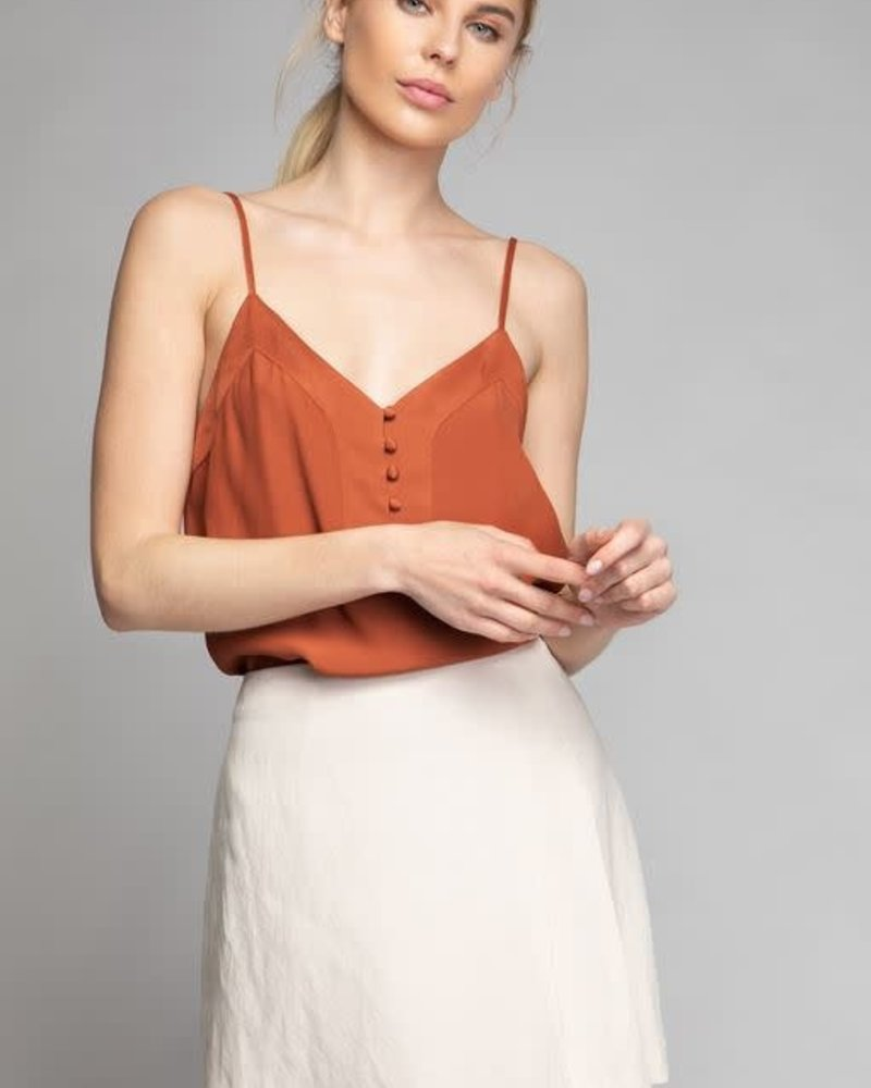 Button Down Tank | Rust