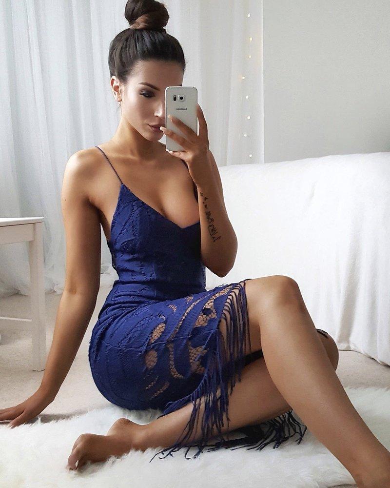 Khaleesi Dress | Navy