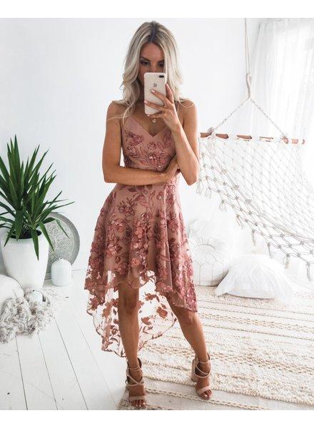 Saskia High Low Dress
