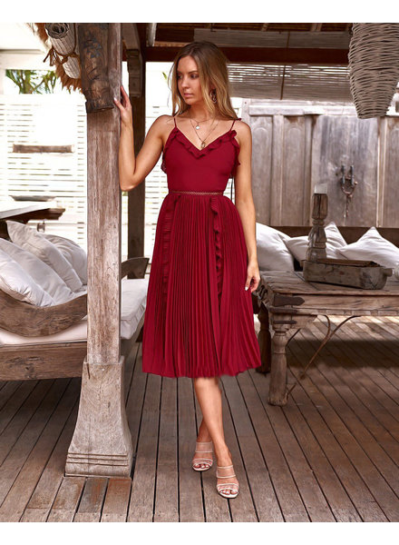 Maia Dress | Red