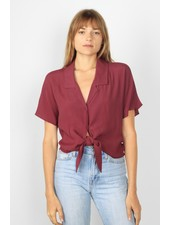Brenley Top | Burgundy