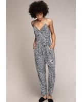 Leopard Jumpsuit | Black