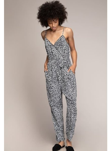Leopard Jumpsuit | Black