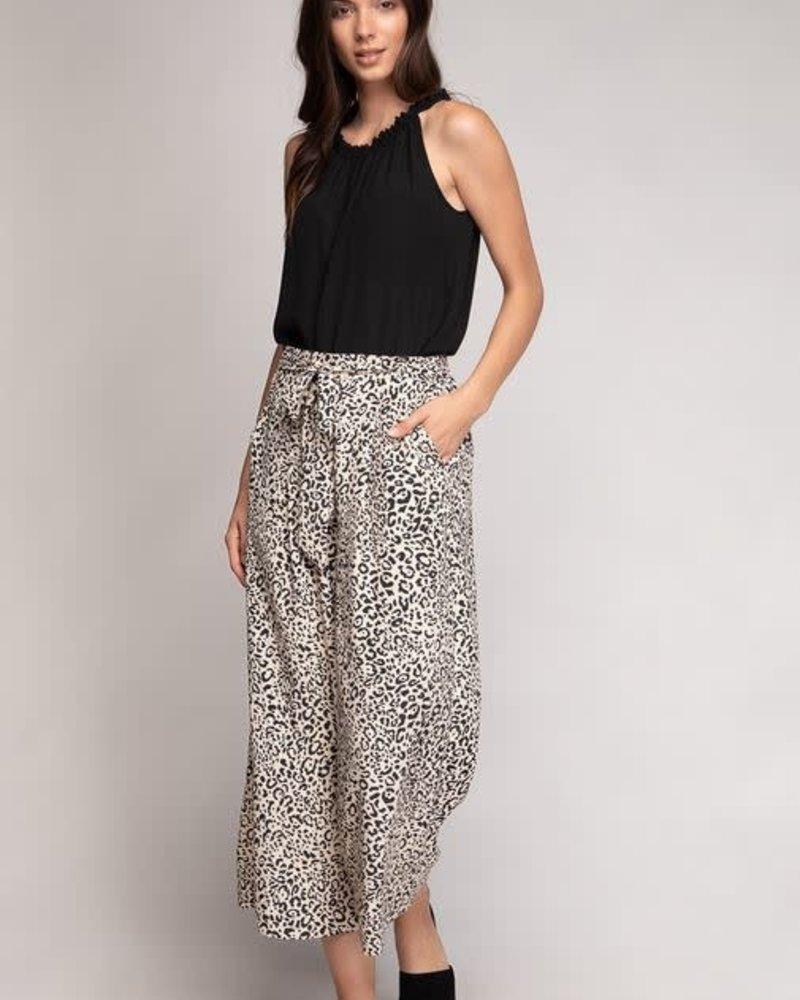 Leopard Wide Leg