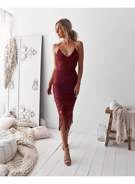 Khaleesi Dress | Red Rose