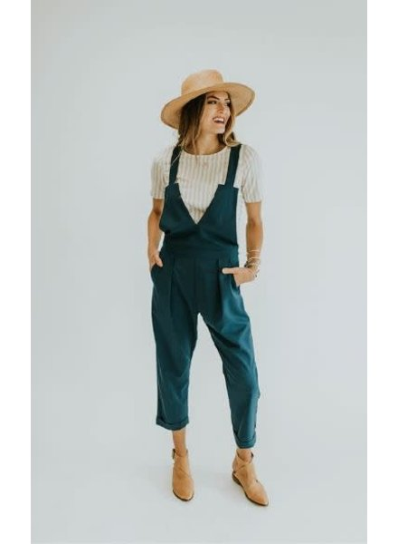 Colby Jumpsuit | Teal
