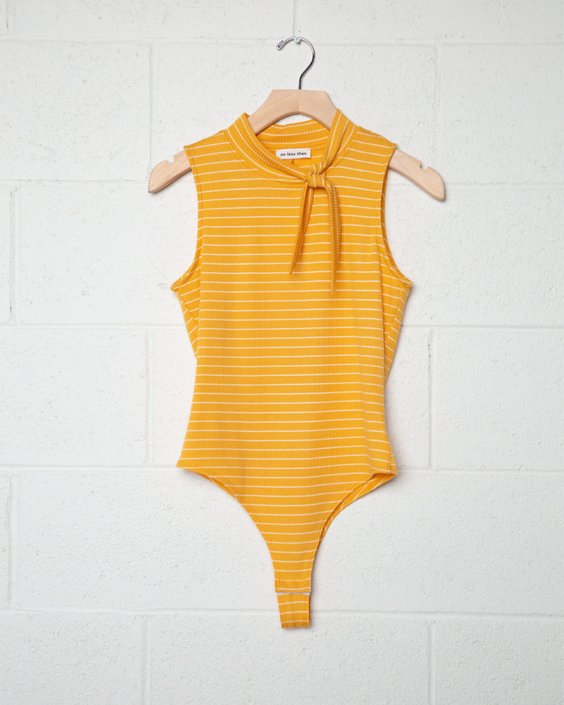 Sleeveless Ribbed Bodysuit | Two Colors!